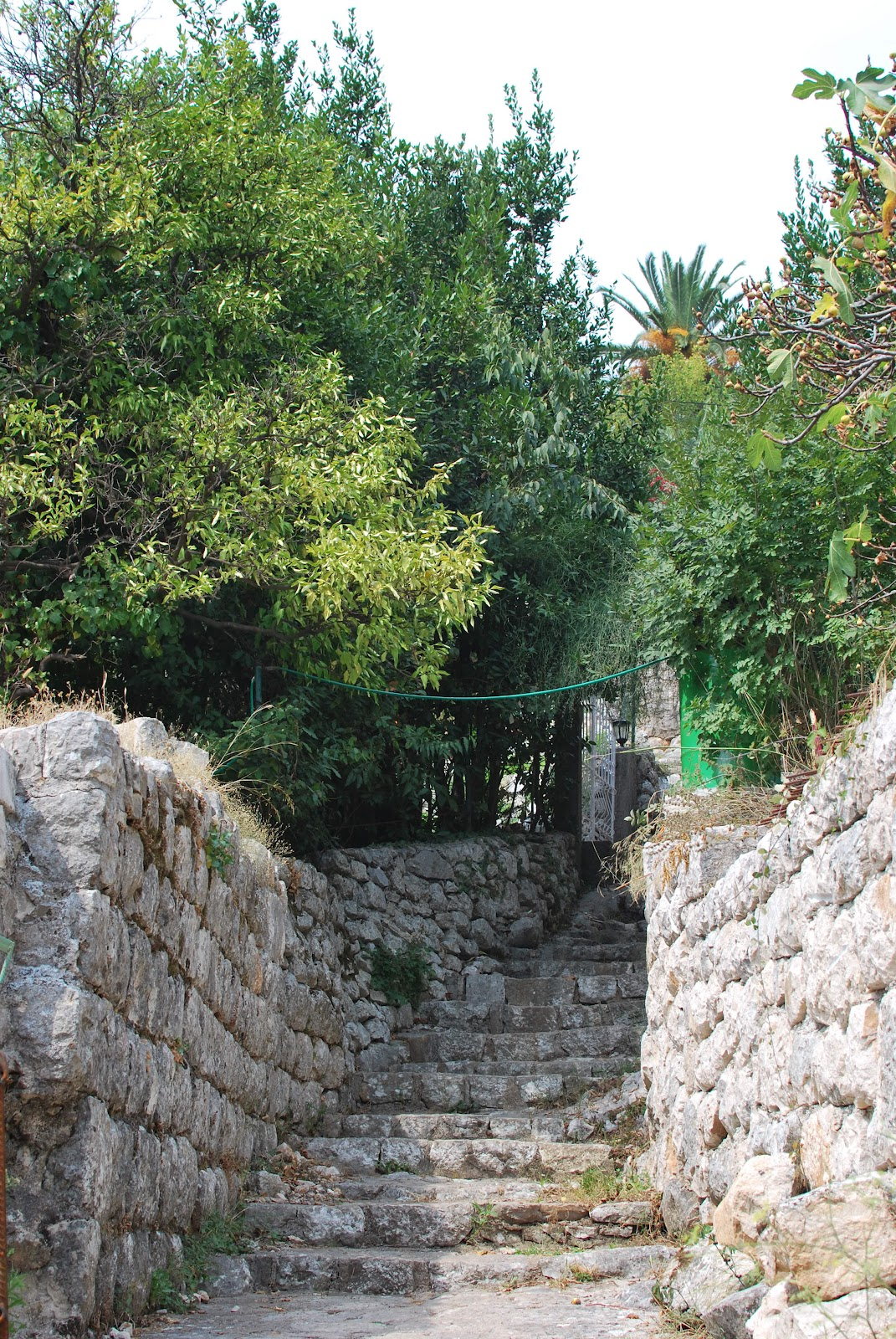 Wandering these small, nondescript paths that weave through town is one of the best things to do in Perast