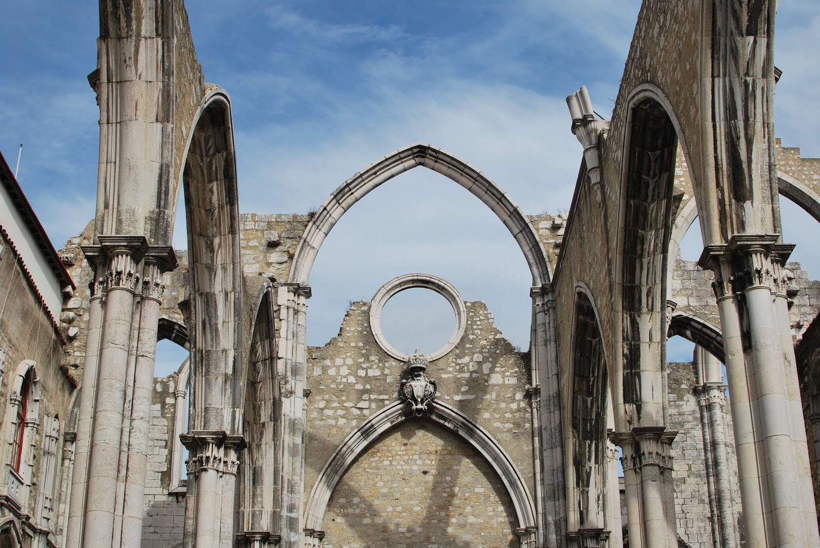 Rows of large arches