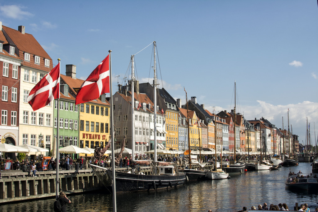 Nyhavn - definitely worth vomiting in the Copenhagen Airport and nearly losing Travis' laptop and passport