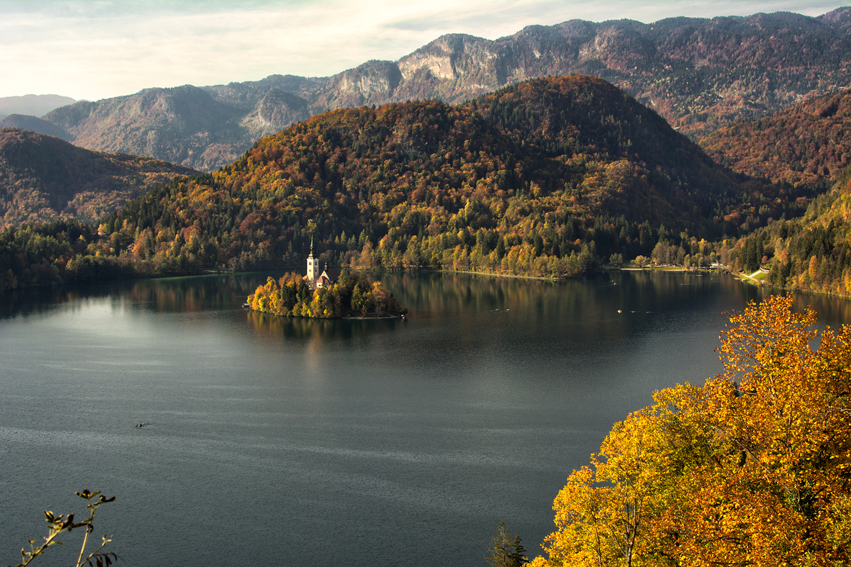 The iconic Island on Lake Bled