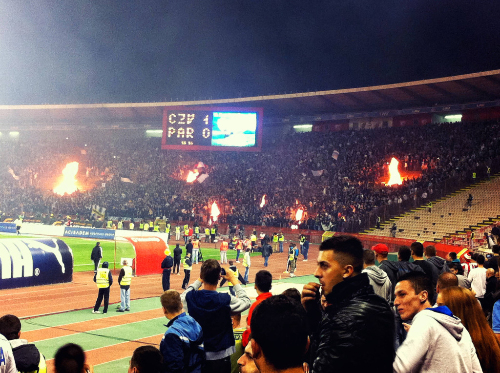 Stoked by the fans, fires multiple fires erupted in the Parizan section