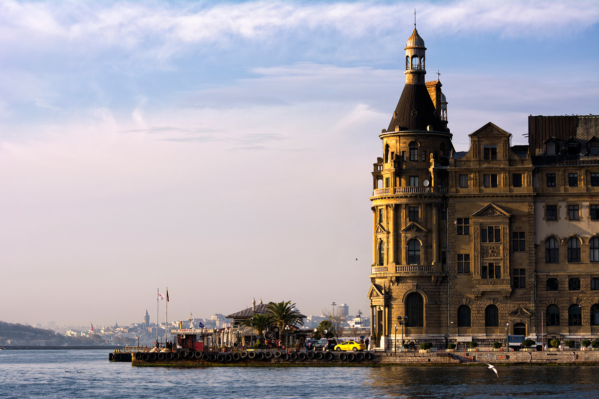 The view from the port at Kadikoy
