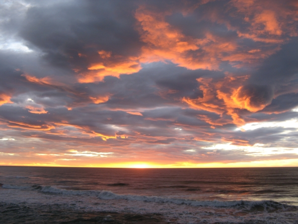 In Kate's words: Sunset at Punakaiki, South Island of New Zealand