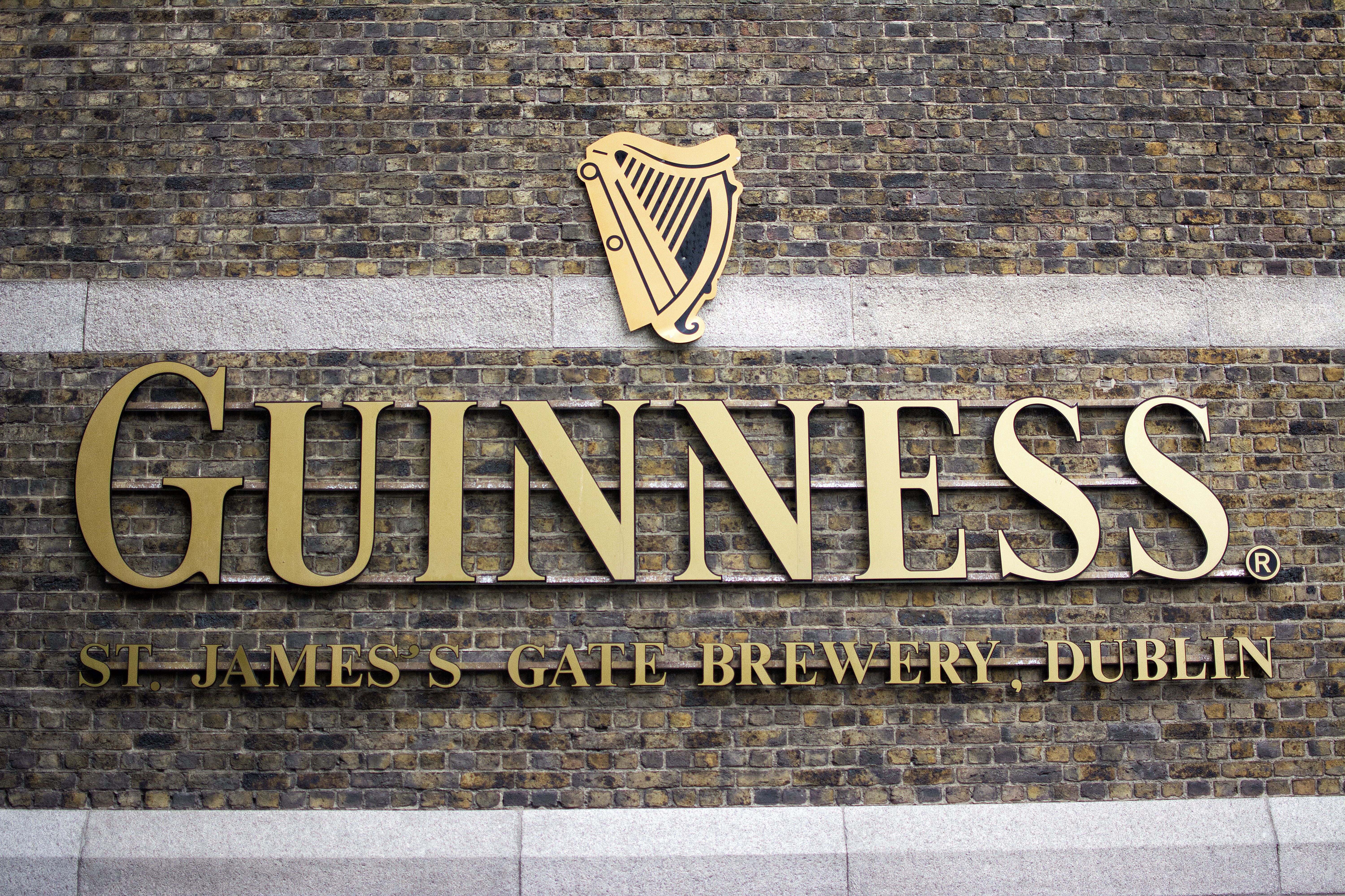 Guinness Storefront sign