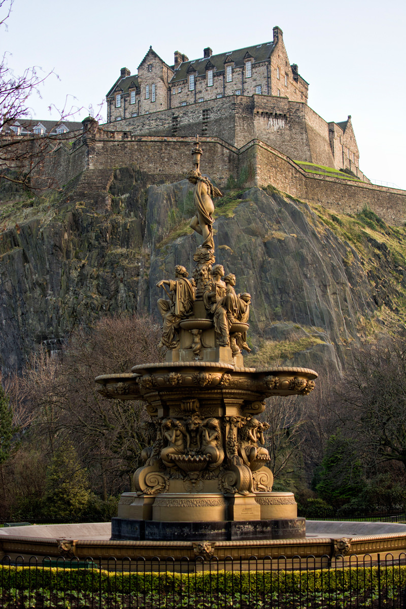 It's impossible to ignore Edinburgh's beauty