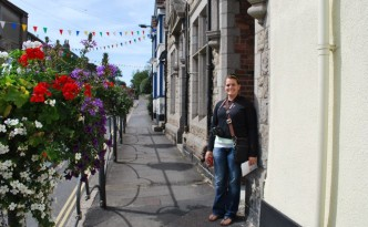 Strolling the charming streets of Devon, England