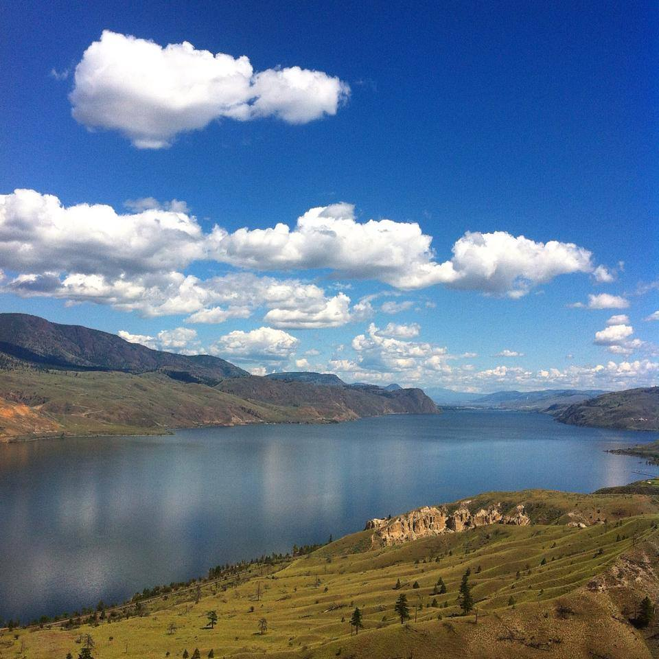 Kamloops Lake just outside city limits - a favourite daytrip location of ours